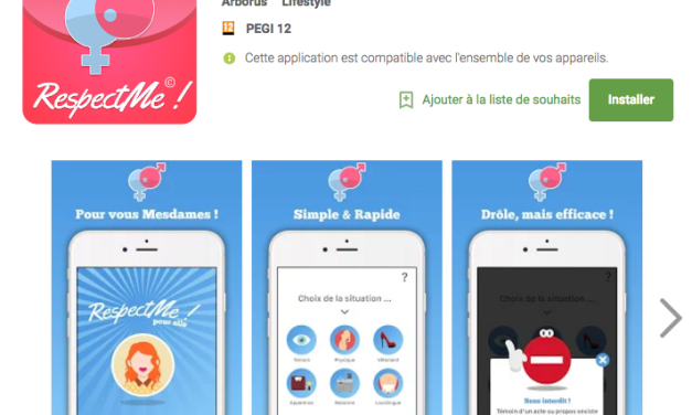Sexisme: Une application mobile par Arborus et le Club du Label Egalité